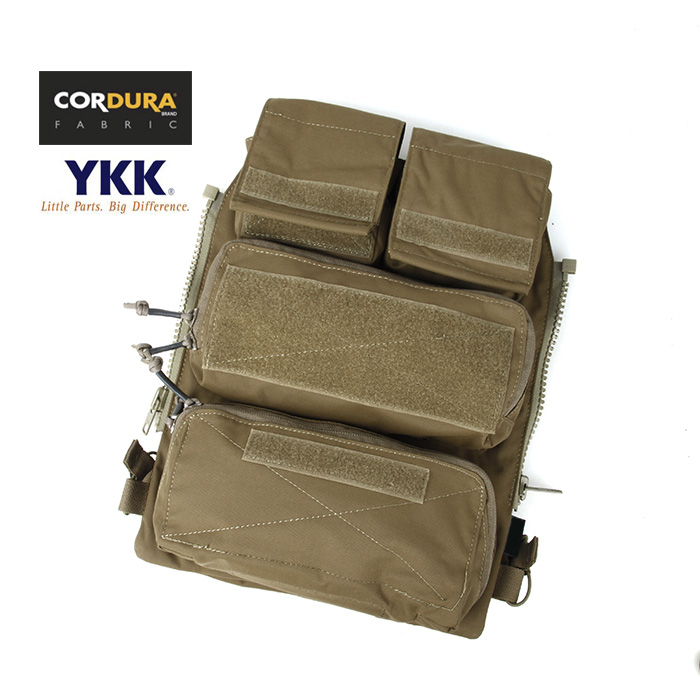 TMC For AVS JPC2.0 CPC Tactical Plate Carrier Vest Zipper Panel Pouch Ammo GP Backpack w/ Horizonal Mag Pouch(SKU051224)