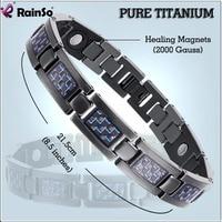 2015 Fashion Jewelry Men Or Women Bracelet Energy Healing Titanium Magnetic Bracelet Health With Christmas Gift