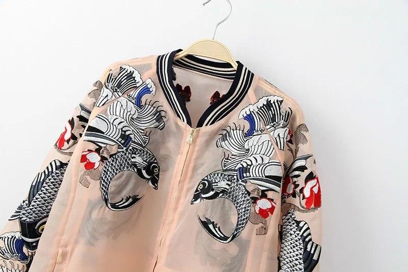 HTB1tgS6QpXXXXcoaXXXq6xXFXXXu - Bomber Fish koi Embroidery Jacket