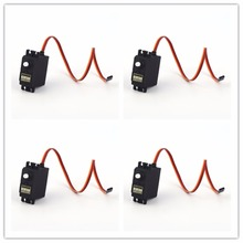 4pcs High Torque Motors SG5010 Servos Metal Gear Apply for RC Racing Car Robot Helicopter and Ships
