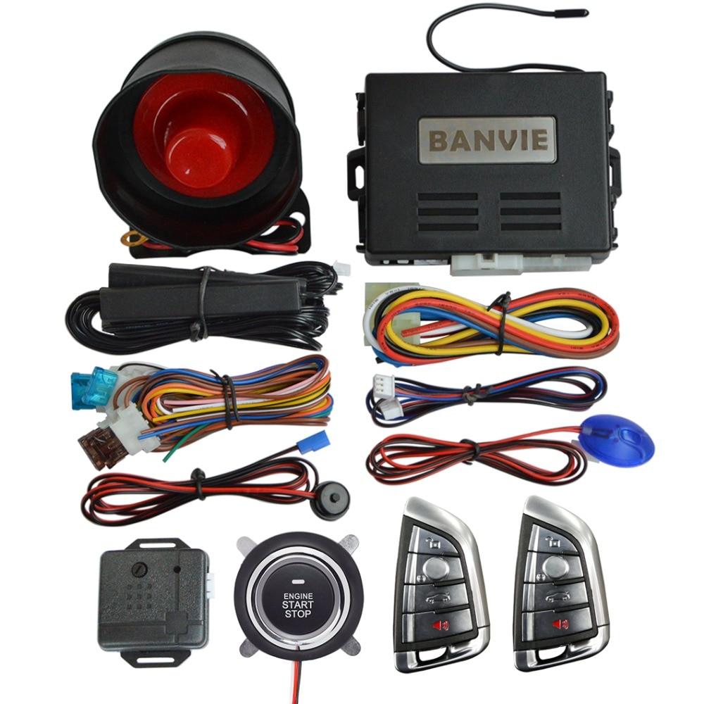 BANVIE Universal PKE Car Security Alarm