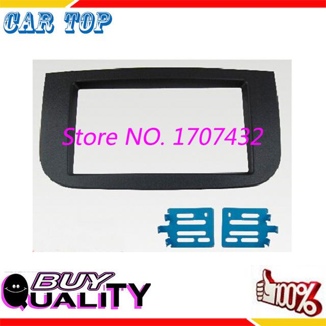 Alta qualidade frete grátis 2DIN Fascia Rádio Do Carro para Mitsubishi Colt 2007 stereo facia quadro painel dash mount kit adaptador guarnição