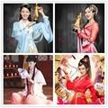6 Designs Princess Costume Hanfu for TV Play Ji Pin Jia Ding Princess Swordlady Lolita Costume Drama Hanfu