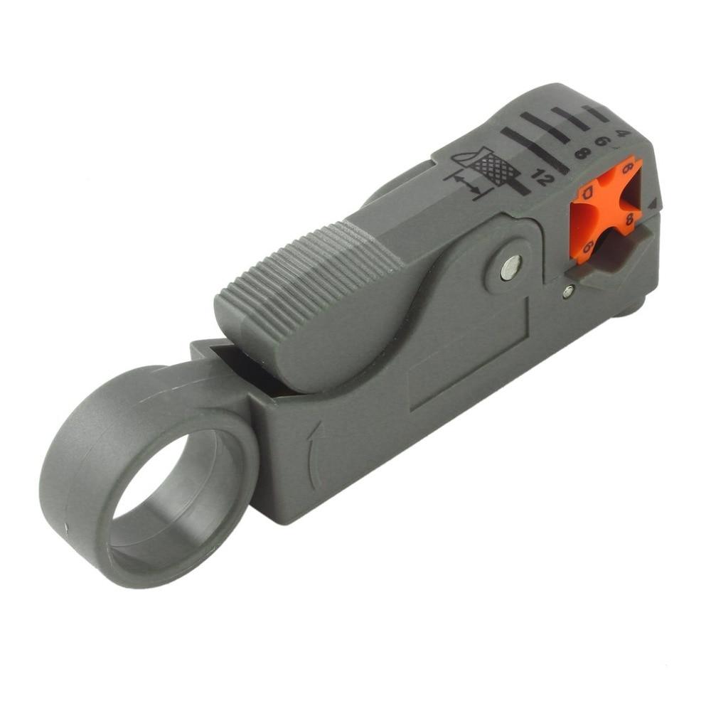 1 шт. коаксиальный бытовой Multi Инструмент для зачистки кабеля/резец инструмент Ротари коаксиальный для зачистки RG59/6/58 сети инструмент Прово...