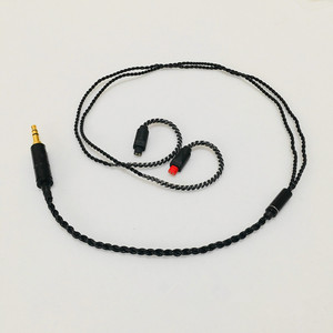 Image 2 - Tự làm tai nghe cáp cáp OFC cho SE535 MMCX Pin UE900 SE215 IM50 IM70 IE80 0.75MM 0.78MM pin ngắn cáp 45cm