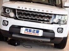Paire Brouillard Lampe lumières couverture Grille LUNETTE pour Land Rover Discovery 4 LR4 2014 2015 2016