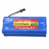 Ni MH 2500 MAh Battery Replacement For Seebest D730 Seebest D720 Robot Vacuum Cleaner Parts