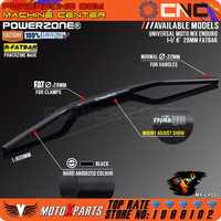 "Manillar negro Renthal 1 1/8 ""barra de grasa 28mm manillar para motocicleta Motocross Pit Dirt Bike ATV KTM FCI YZF KLX RMZ EXC"