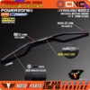 Black Renthal 1 1 8 Fat Bar 28mm Handlebars Handle Bar For Motorcycle Motocross Pit Dirt
