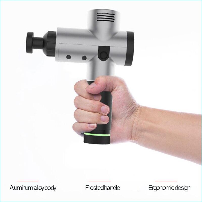 Massagem Corporal Terapêutica 3 Arquivos 24 V Brushless eletrônico LED Armas Corpo Muscular Músculos Exercício Do Corpo