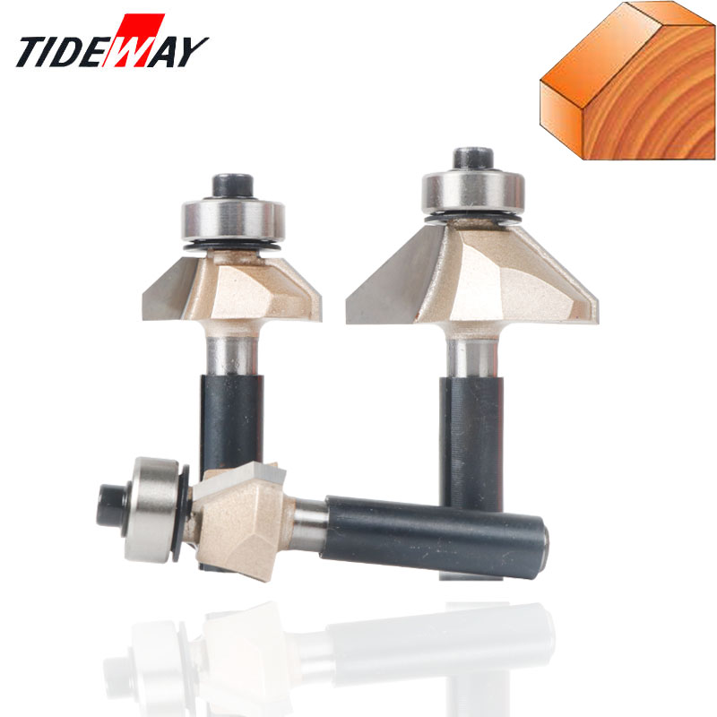 8mm Shank Classical Mounlding Bit Router Bits For Wood Fresas Tungsten Carbide Woodworking Endmill Tools Milling Cutter Woodwork