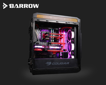 Barrow Acrylic Board Water Channel Solution kit use for COUGAR Gemini T Case / CPU and GPU Block Instead reservoir