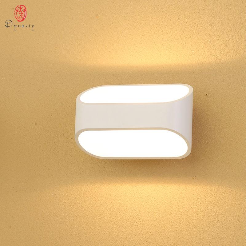 Dynasty Modern Alüminium LED Divar lampaları 5W Dekorasiya Daxili - Daxili işıqlandırma - Fotoqrafiya 4