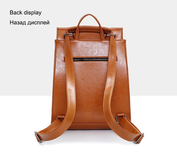 juventude mochila de couro do Size : Width 27cm Thickness 13cm Altura 34cm Handle