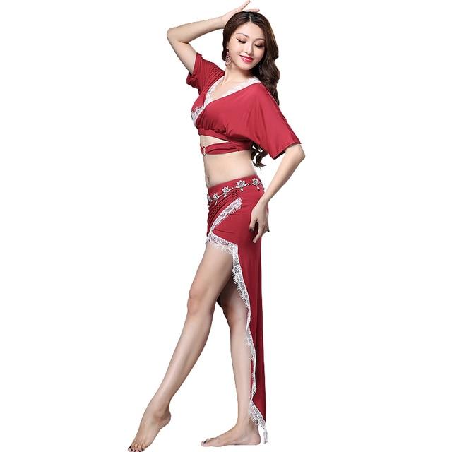 Bellydance oriental Belly Indian eastern baladi saidi swing robe dance dancing costumes clothes bra belt skirt dress wear 3643