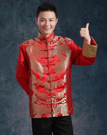 Kineska tradicionalna odjeća vjenčanje rude vezenje nevjesta - Nacionalna odjeća - Foto 3
