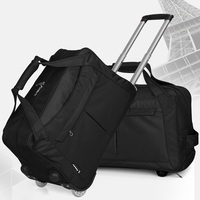 Travelbagล้อดำเนินการในถุงกระ