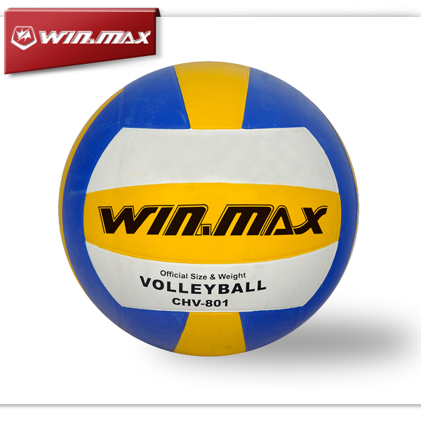 2019 Winmax Brand Machine Stitched Rubber Volleyball Ball