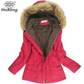 Winter Jacket Women Faux Fur Collar Womens Coats Long Down Parka Plus Size Lady Hoodies Parkas Warmer Classical Jackets Hot Sale