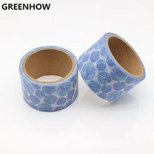 GREENHOW Japanese Style Paper Decorative Scotch Adhesive Firework Pattern Washi Tape Set Masking Tape Stickers for