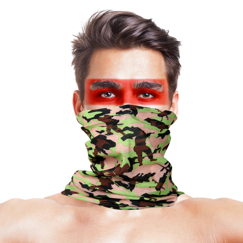 Multi Used Pocket Squares Festival Motorcycle Face Shield Anti Dust Half Face Mask Balaclava Party Bike Bicyle Windproof Masks