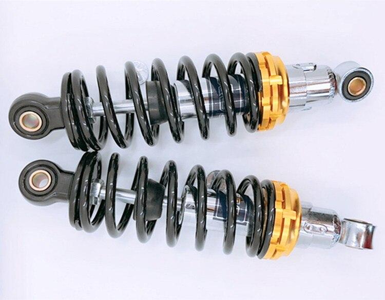230 мм мотоциклетные пневматические амортизаторы универсальные для Honda Suzuki Yamaha мотовездеход Kawasaki Go Kart Quad Dirt Спортивные Велосипеды Черные