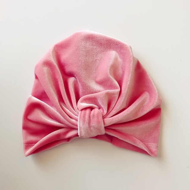 Новая бархатная повязка-тюрбан шляпа, богемный стиль тюрбан шапка, индийский головной убор Тюрбаны на осень и зиму