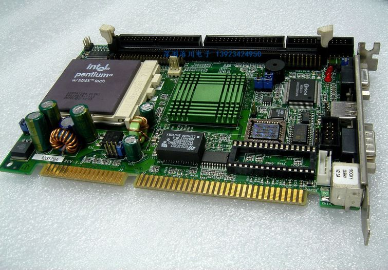 industrial motherboard SBC8A806 board tested good working perfect sbc8251 rev c2 industrial board 586 isa half size cpu card tested good working perfect