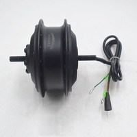 36V 48V 250W electric bike hub motor High Speed Brushless electric motors e bike Motor Front Wheel Drive DQ100