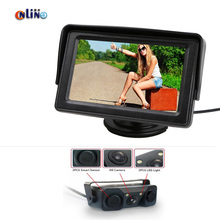 Car electronics 4 3 TFT LCD Rearview Car Mirror Monitor Night vision Auto Video Parking Sensor