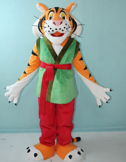 High quality built in mini fan good ventilation adult Kungfu tiger mascot  costume -in Mascot from Novelty & Special Use on Aliexpress com | Alibaba