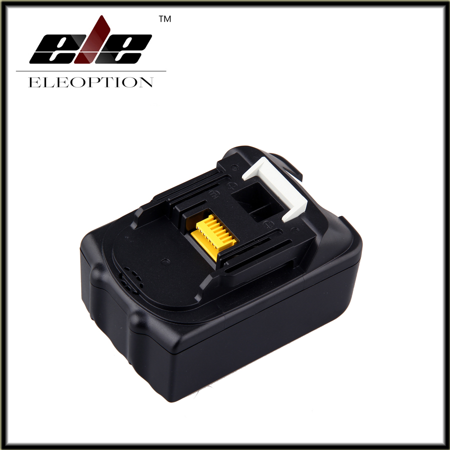 Eleoption Spare parts Rechargeable batteries for Makita BL1840 LXT Li-ion 4.5Ah 4500mAh Battery Power Tool spares eleoption 2pcs 18v 3000mah li ion power tools battery for hitachi drill bcl1815 bcl1830 ebm1830 327730