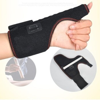 Electric Heating Moxibustion Wristband Prevent Inflammation Fitness Sprain Wrist Protect Hand Health Care Massage T0410CMD