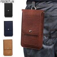 FSSOBOTLUN 4 Colors Universal Double Portable Waist Belt Clip Holster Mobile Phone Case For UMIDIGI S2