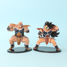 2 pçs/set Ressurreição F Dragonball Tenkaichi Budokai Super Saiyan Dragon Ball Z Raditz Nappa PVC Action Figure Toy Modelo(China)