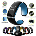 Bluetooth Smart Bracelet Watch Wristband L12S OLED Wrist Watch Anti-lost Hands-free for Samsung S3 S2 Note3 Android Cellphones