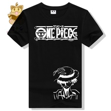 Hot cheap anime t shirt One piece Monkey d luffy good printing t shirt short sleeve cool t shirt AC309