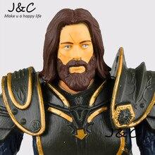 2016 New WOW Action Figure Movie Cartoon Anduin Lothar 15cm PVC Model Anime Model Toys kids toys