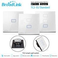 Broadlink TC2 EU Switch 1Gang 2Gang 3 Gang Touch Switch Smart Home Automation Wireless Wifi Control