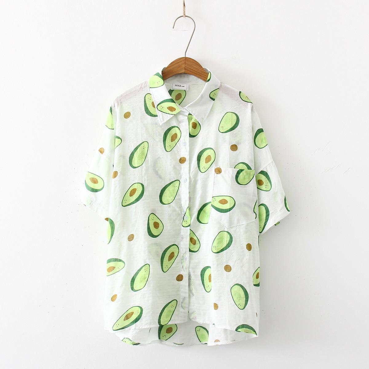 2019 Summer Blouse Shirts New Women Fashion Short Sleeve Floral Print Loose Casual Tops Shirts Blusas