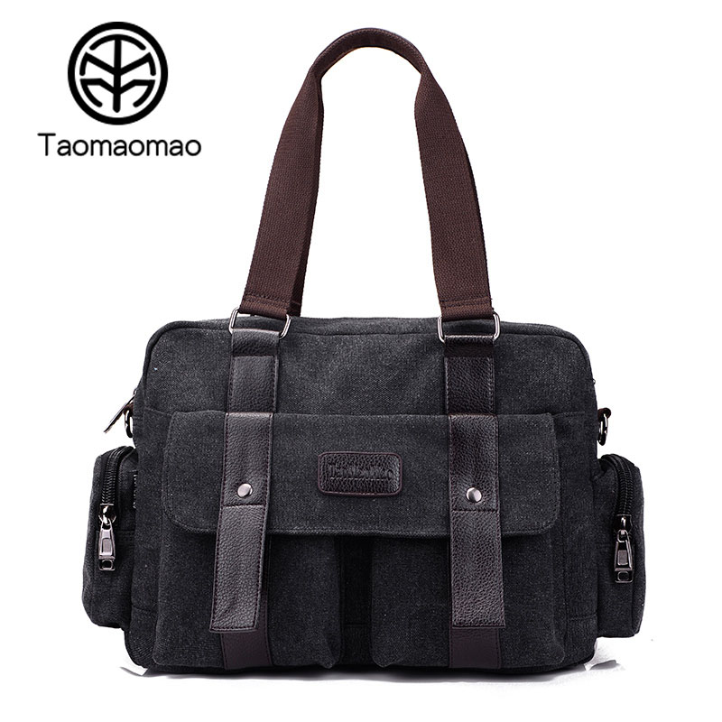 Taomaomao 2017 New Women Canvas Handbags Casual Crossbody Canvas Bag Women Large Capacity Travel Shoulder Messenger Bags WH576 weiju new canvas women handbag large capacity casual tote bag women men shoulder bag messenger crossbody bags sac a main