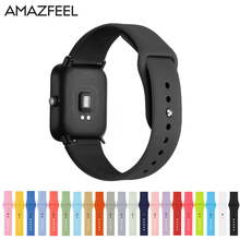 Silicone Soft Straps for Amazfit Bip Replacement watchband For Xiaomi Huami Amazfit youth Wristband Sport Waterproof watch Strap
