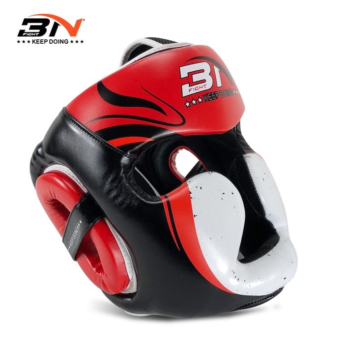 2017 Pretorian Best Boxing Headgear Sanda Kick Boxing Head Protector PU leather For Men Women In TKD Karate 3 Colors Box Helmet