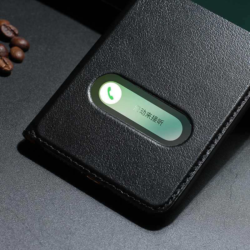 MAKEULIKE Kulit Asli Kasus Untuk Iphone 7 Ditambah Mewah Magnetic - Aksesori dan suku cadang ponsel - Foto 5