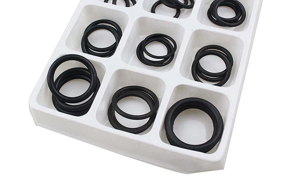 50x Rubber O Ring Gaskets Assorted Sizes Set Kit For Plumbing Tap ...