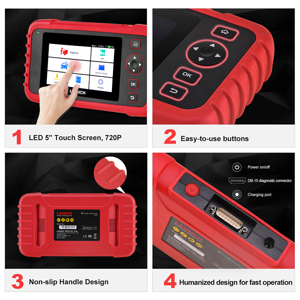 Image 5 - LAUNCH X431 CRP123X OBD2 Scanner Auto Code Reader OBDII Diagnostic Tool ENG AT ABS SRS Launch Scanner Car Automotive Tool crp123 on