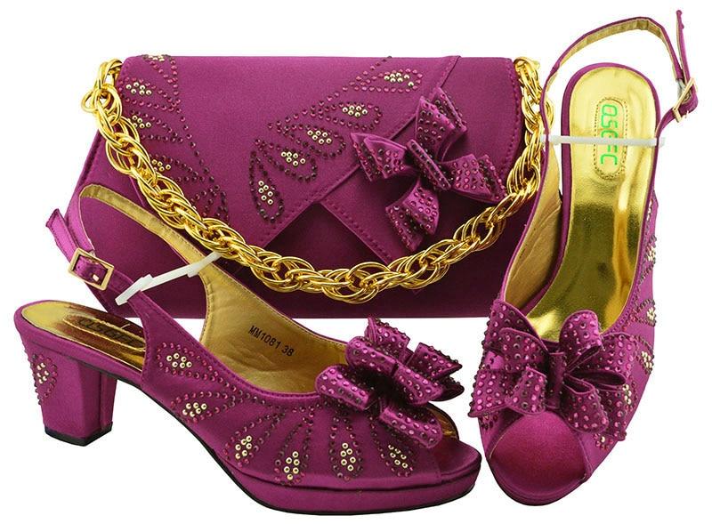 Sacs Chaussures magenta Correspondre gold Avec Conceptions Blue dark fuchsia Au De 2019 Parti Sac pink Italien Et Nigeria Ensemble Green Royal Printemps Le À Pour purple OqxHSI7