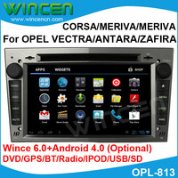 6.95 Car DVD Player for OPEL VECTRA ANTARA ZAFIRA CORSA MERIVA ASTRA With Wince 6.0+Android 4.0 System