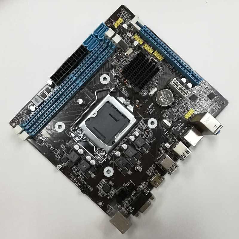 Hm55 ordinateur carte mère ensemble I3 I5 Lga 1156 4G mémoire ventilateur Atx ordinateur de bureau carte mère ensemble de montage jeu