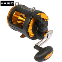 Haibo Sword 640 Lange Casting Boot Baitcasting Reel Fishing Carbon Slepen Zee Big Game Drum Trolling/Jigging reel 6BB 4.3: 1(China)